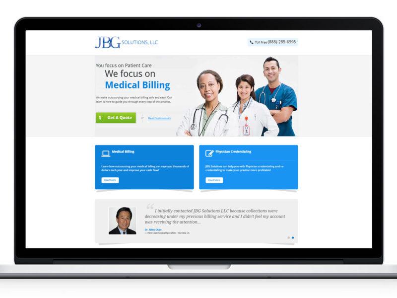 Web Design for jbgsolutions.com
