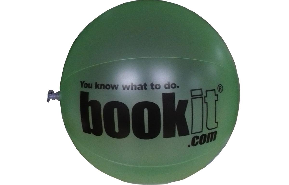 Custom Beach Balls for Bookit.com