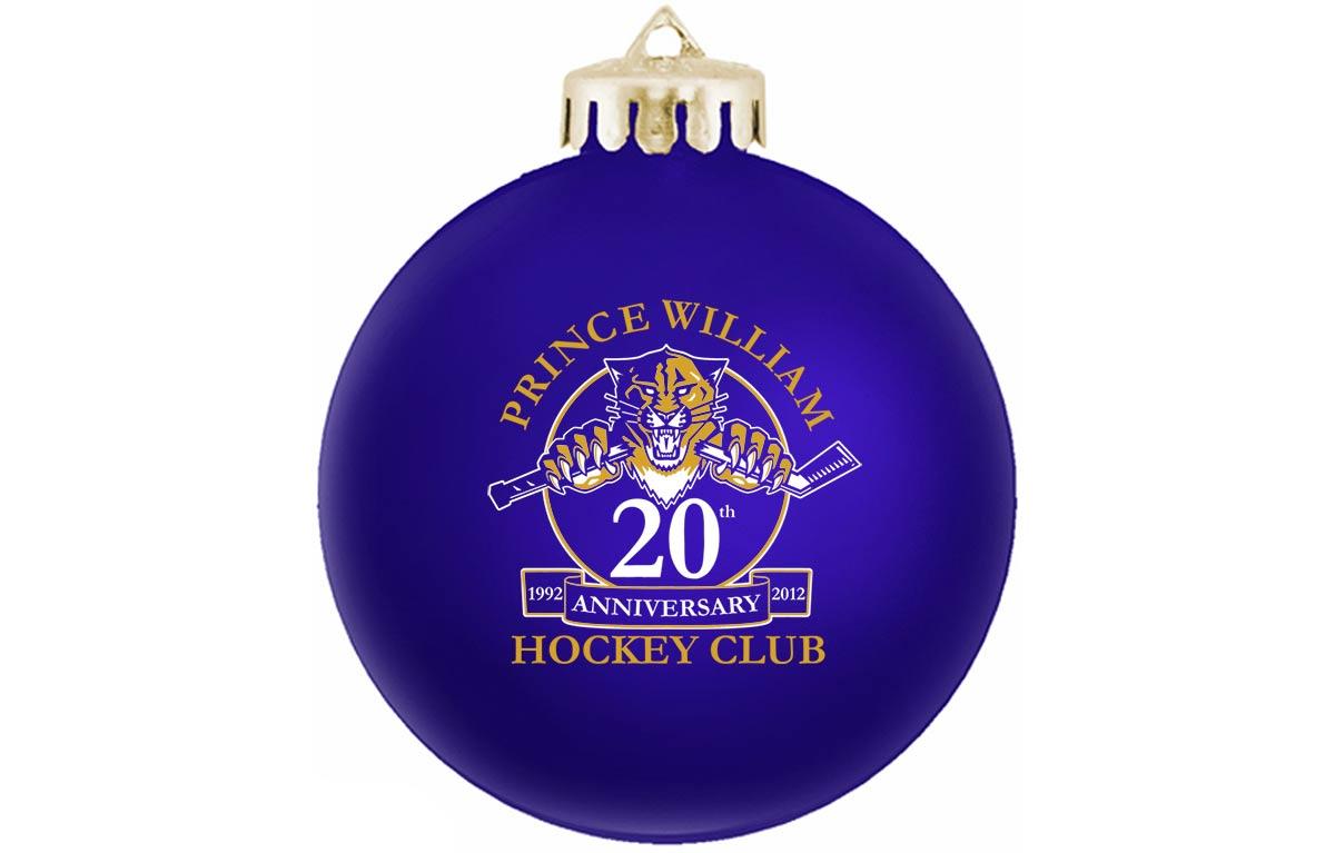 Custom Christmas Ornaments for Company or Club Anniversaries
