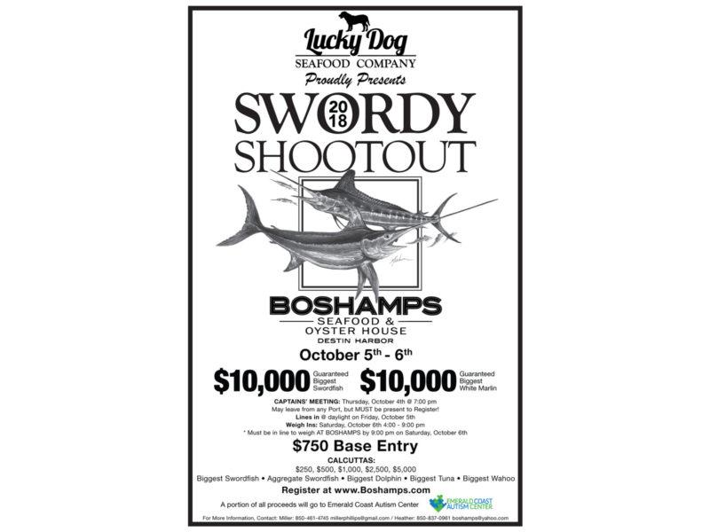 "2018 Swordy Shootout 11"" x 17"" Tabloid Poster"