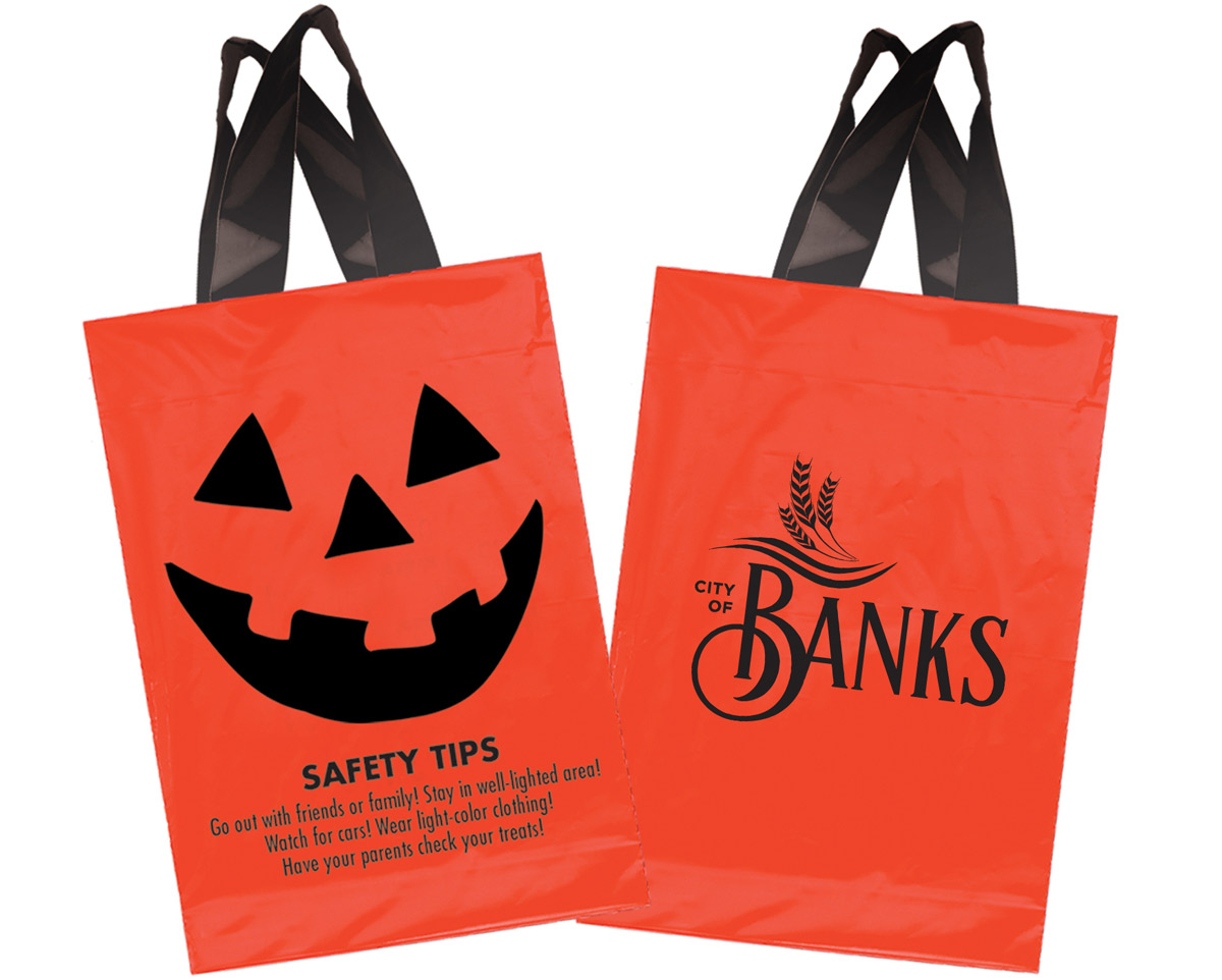 Custom Halloween Bags for City of Banks