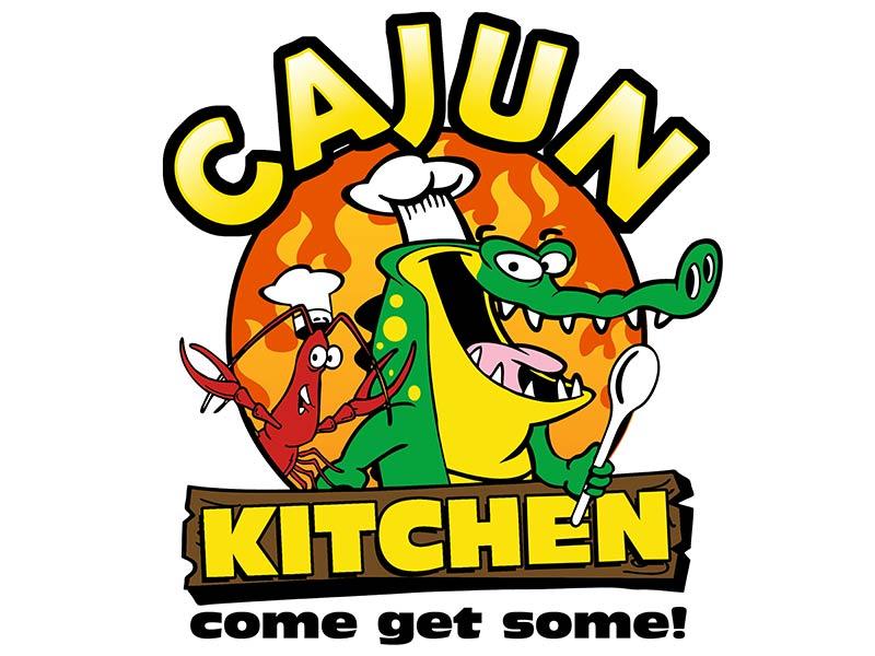 Cajun Kitchen - Restaurant Logo Design & Branding
