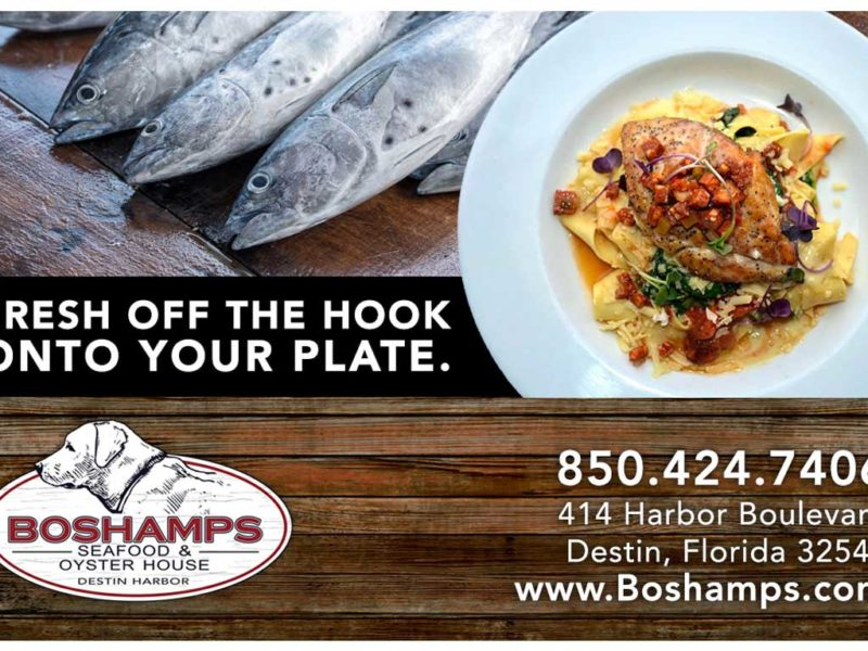 Boshamps | Restaurant Ad Design