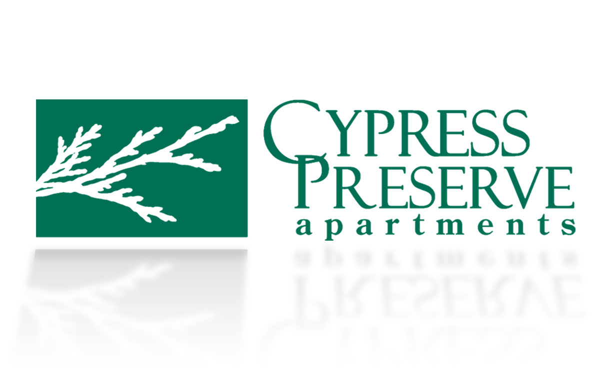Cypress Preserve apartments Logo Design