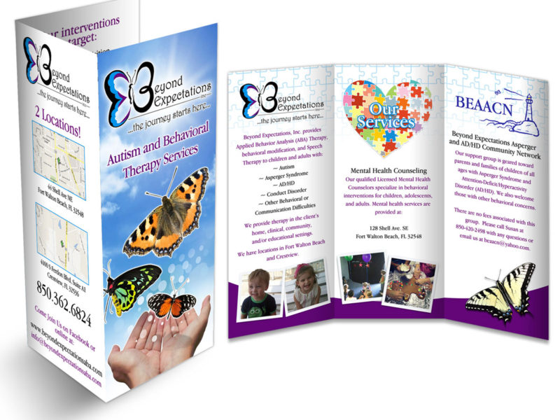 Professional Brochure Design for Beyond Expectations