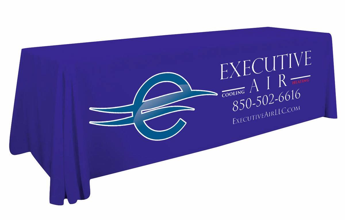 Custom Table Cover for Executive Air | Destin