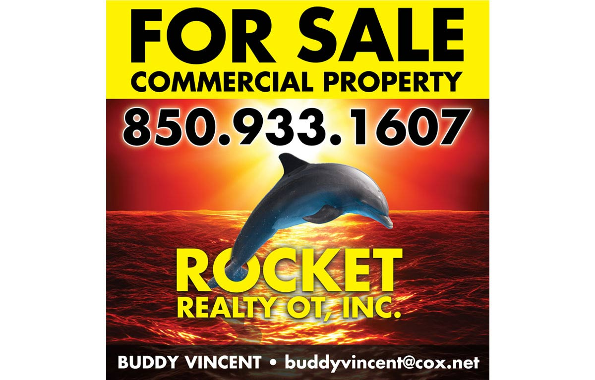 Rocket Realty | Real Estate Custom Sign Design