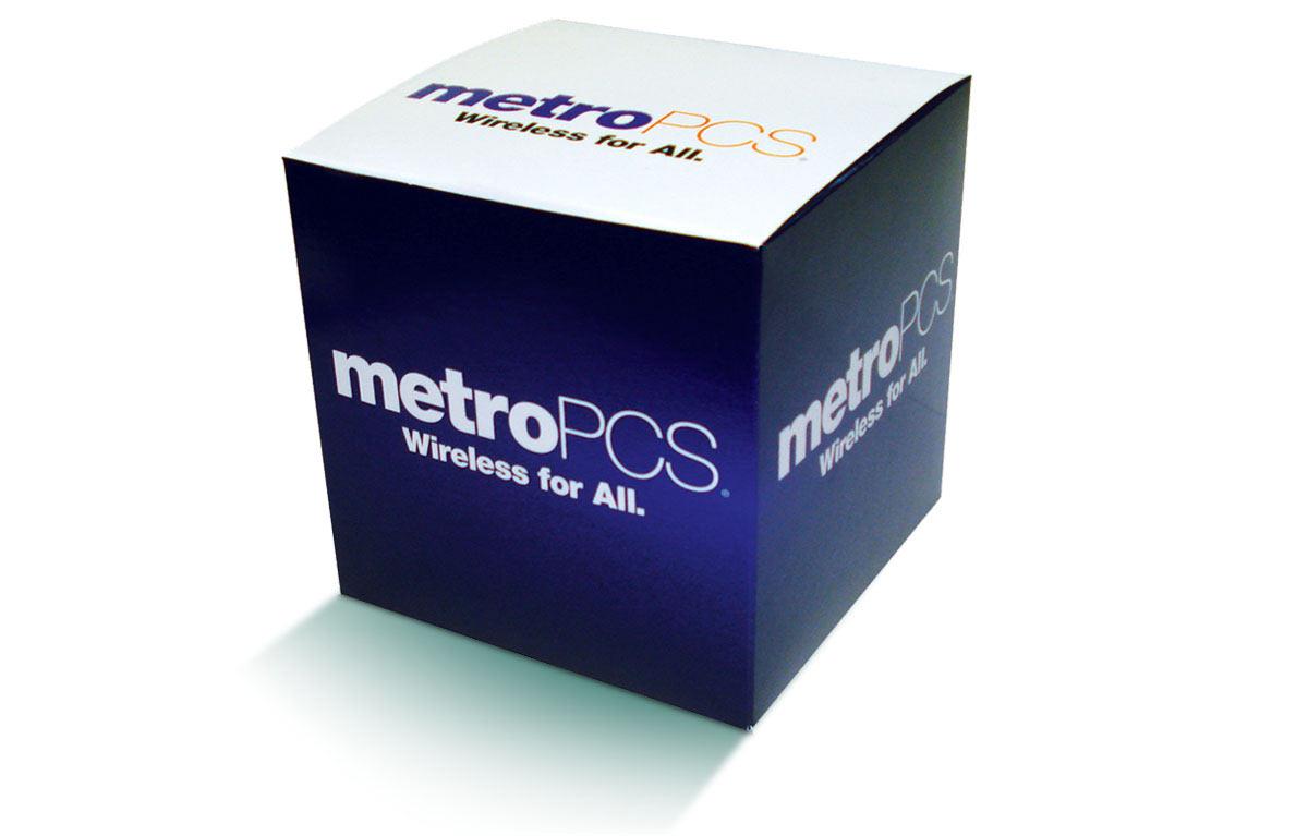 Custom Cube Box Packaging