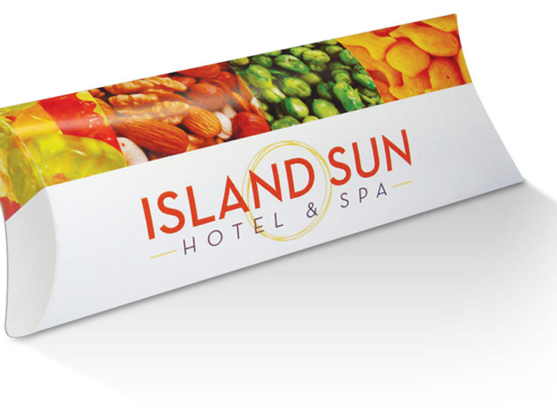 Custom Pillow Box for Island Sun Hotel & Spa
