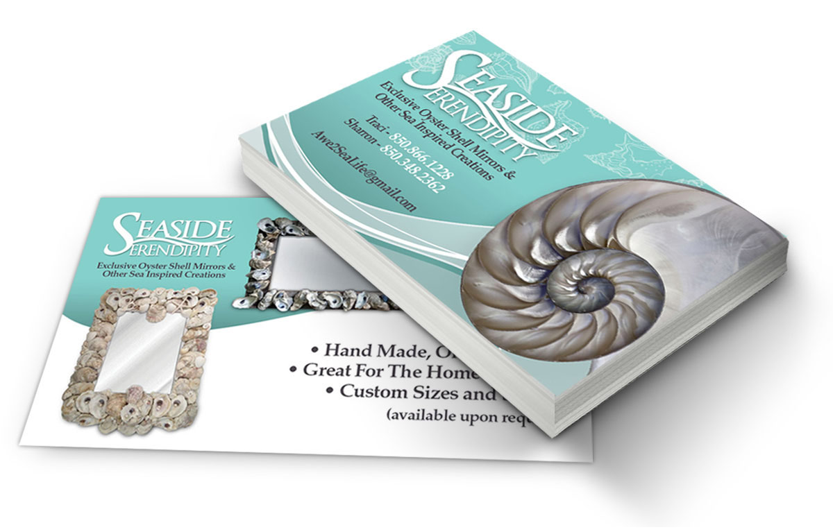 Business Card Design for Seaside Serendipity