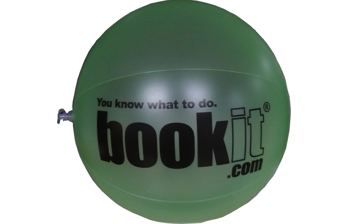 Custom Beach Balls for Bookit.com