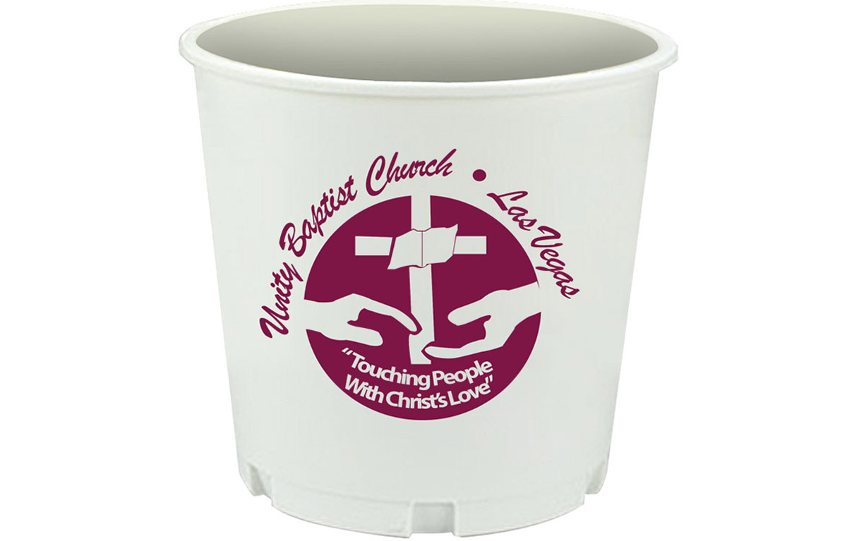 Custom Church Offering Buckets