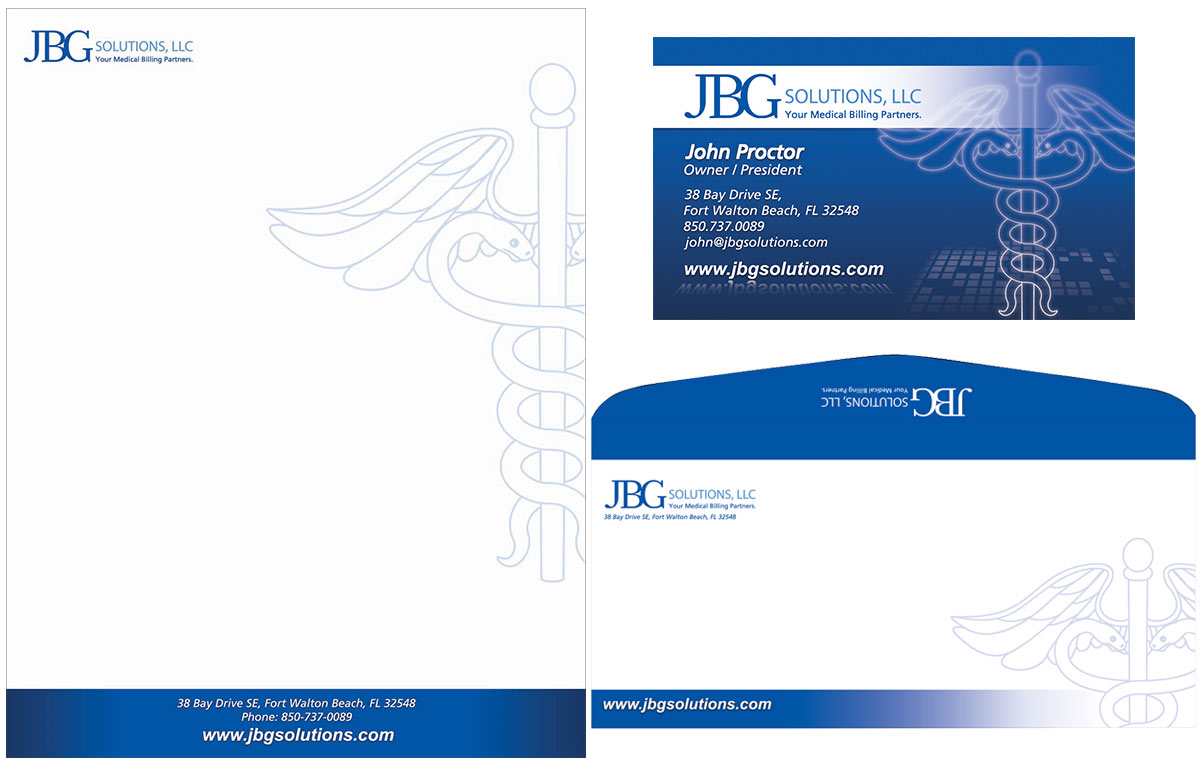 Stationery Design for JBG Solutions