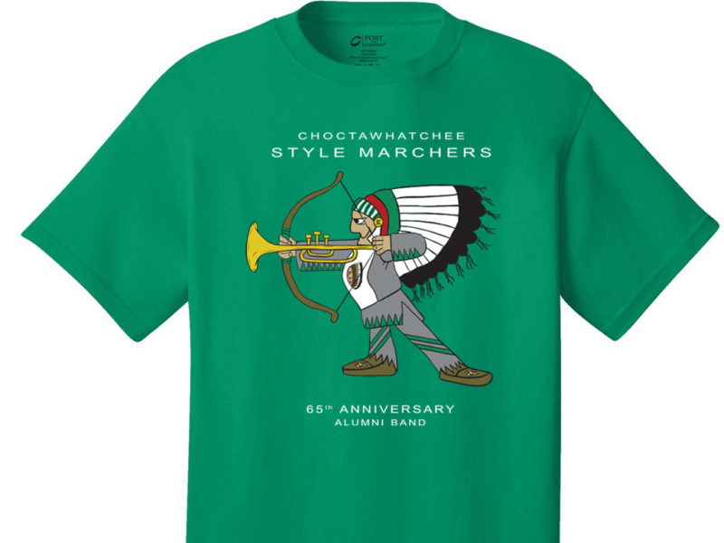 Choctawhatchee Style Marchers Alumni Band Event Shirts