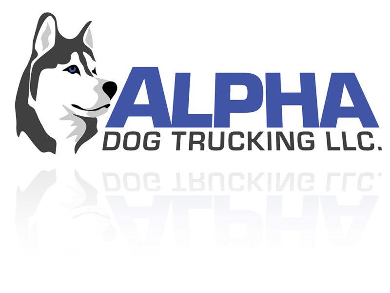 Logo Design for Alpha Dog Trucking