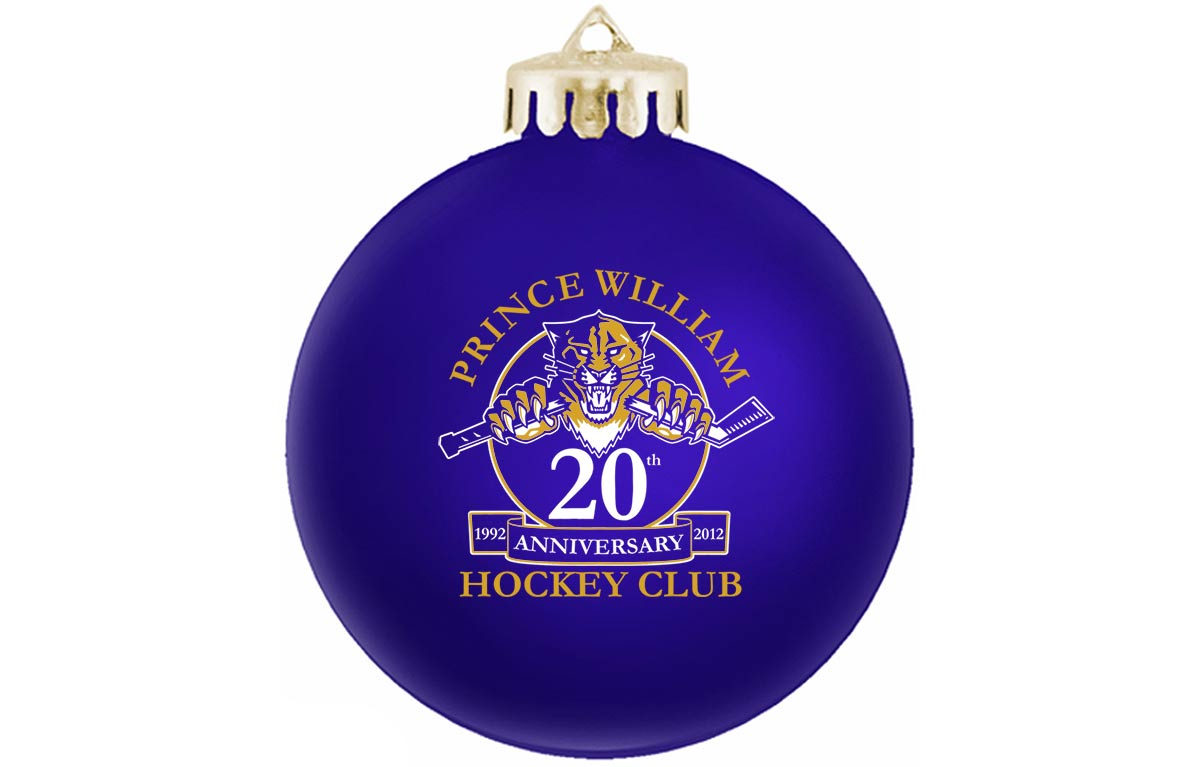 Custom Christmas Ornaments for Company or Club Anniversaries