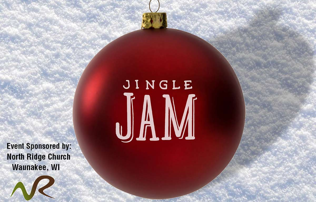 Jingle Jam Custom Christmas Ornaments for North Ridge Church