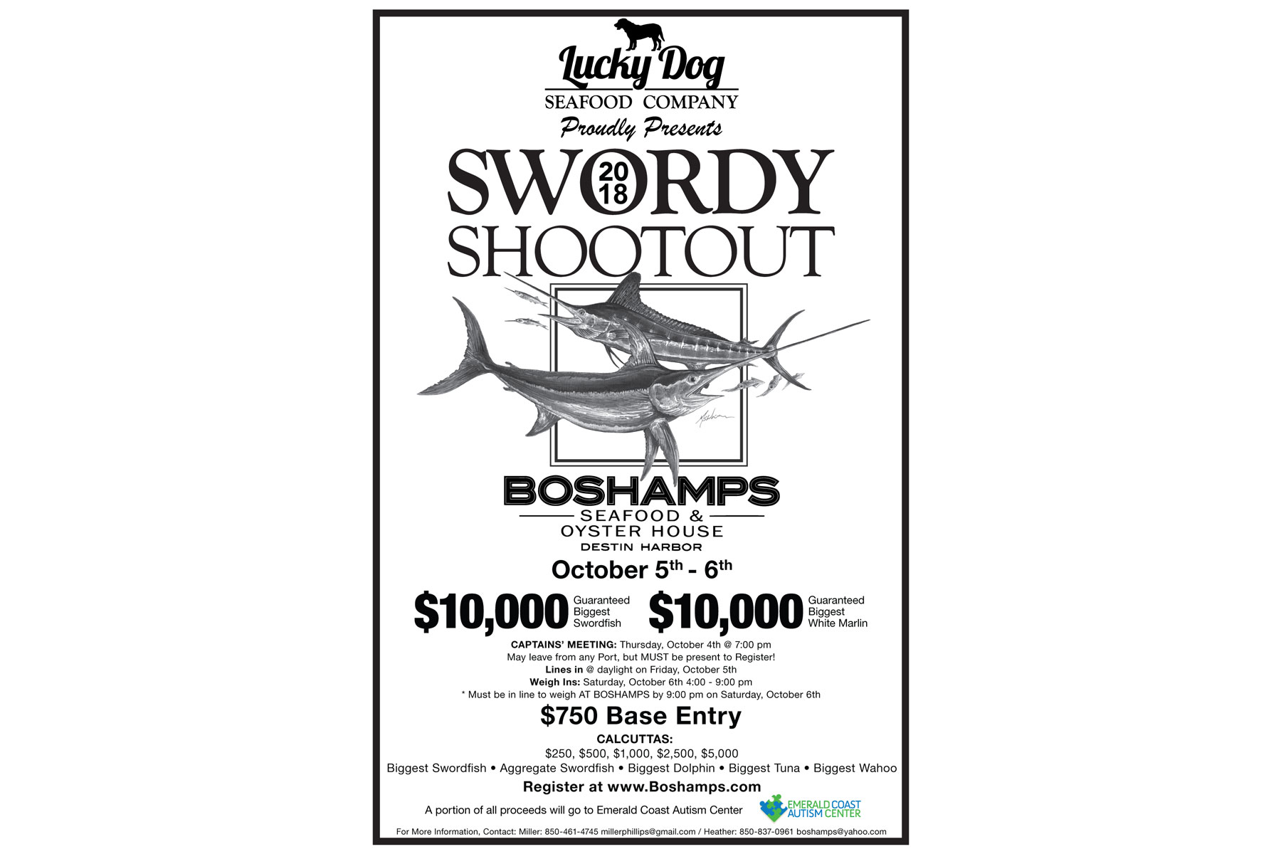 "2018 Swordy Shootout 11"" x 17"" Tabloid Poster"